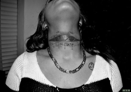 fresh neck tat