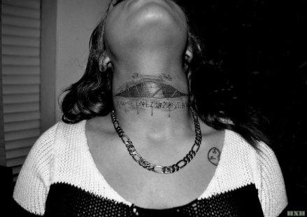 fresh neck tat
