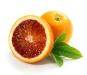 Blood Oranges with Leaf